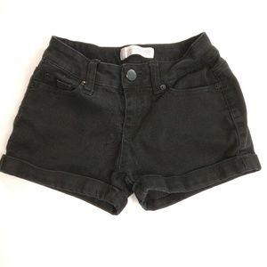 Black Short Jean Shorts Junior Size 5